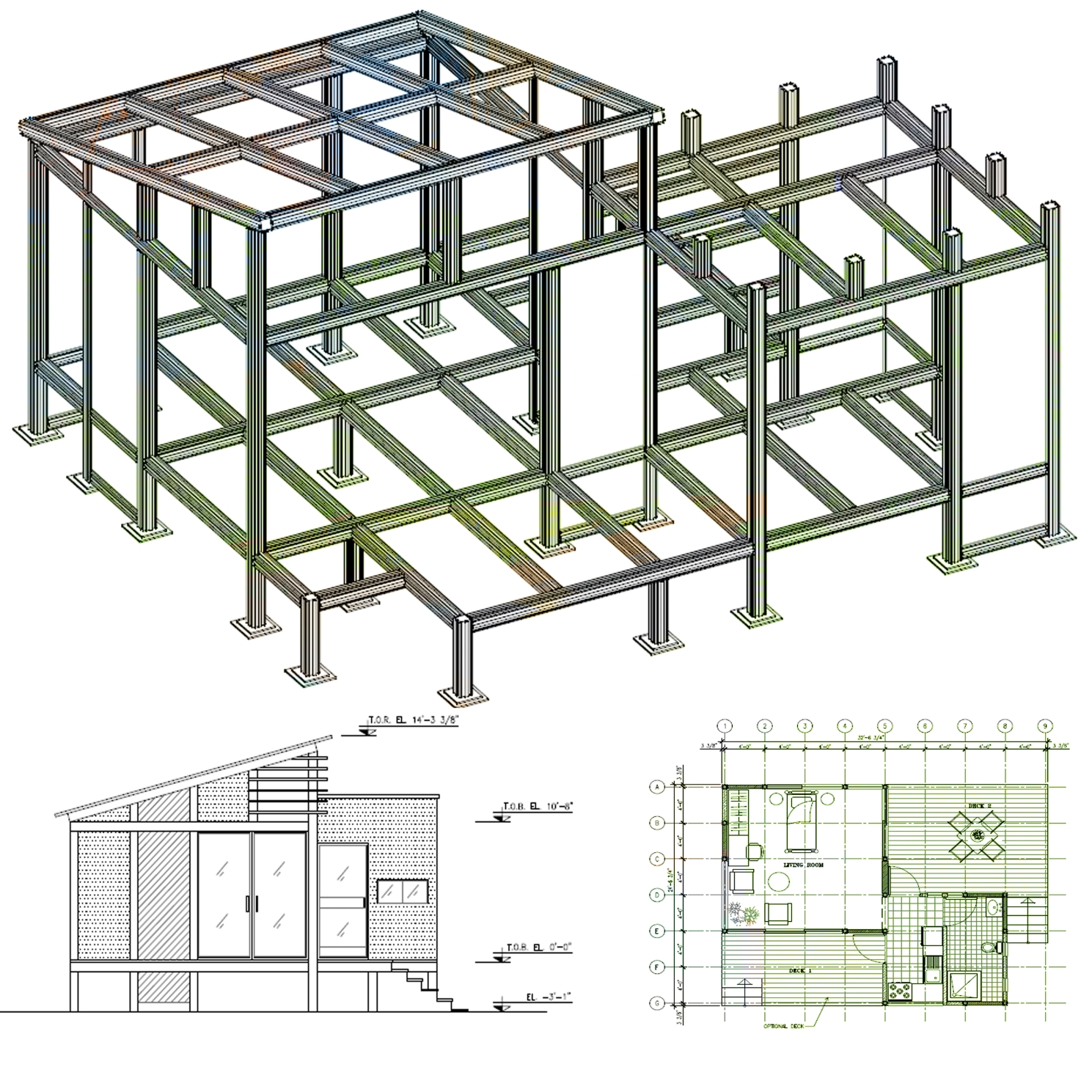 Structural Framing Systems : Mhs building systems structural aluminum framing